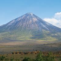 Aldeia Maassai - Vulcão na Tânzânia