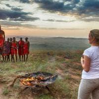 Maasai no Serengeti