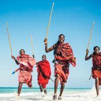 Masai em Zanzibar
