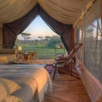 Tenda no andBeyond Serengeti