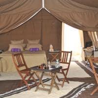 Acampamento no Saara - Tunísia