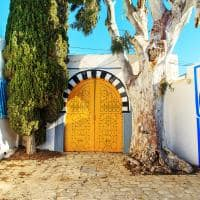 Arquitetura turca - Sidi Bou Said.