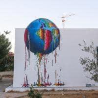 Arte nas ruas de Djerba - Tunísia.