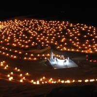 Jantar romântico no deserto - Tunísia.