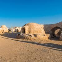 Set do filme Star Wars em Nefta - Tunísia.