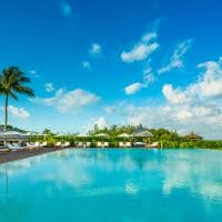 Piscina principal, Parrot Cay, Providenciales, Turks and Caicos Hotel