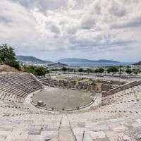 Antigo teatro de Halicarnasso - Bodrum, Turquia.
