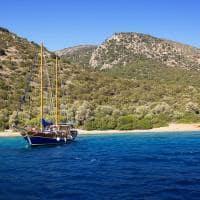 Baía de Bodrum, Turquia