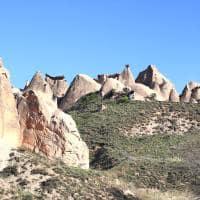 Formação natural de rochas - Capadocia, Turquia.