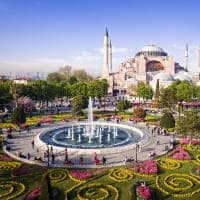 Basílica Santa Sophia em Istambul, Turquia.
