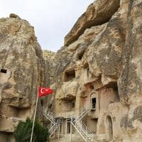 Igreja de Cavusin - Capadócia, Turquia.