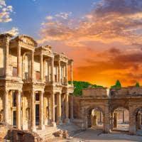 Livraria Celsius - Ephesus, Turquia.