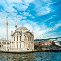 Mesquita Ortakoy - Istambul, Turquia.
