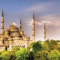 Mesquita Sultan Ahmed - Istambul, Turquia.