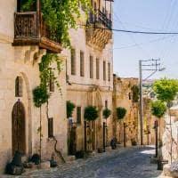Rua do bairro de Ortahisar - Capadocia, Turquia.
