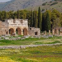 Ruínas da antiga cidade de Hierápolis - Turquia.