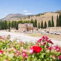 Ruínas de Hierápolis na Turquia.