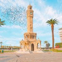 Torre do relógio - Izmir, Turquia.