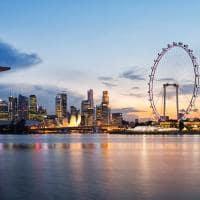 Viagem Singapura, Vista Skyline