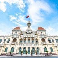 Arquitetura Ho Chi Minh City Hall, Vietnã