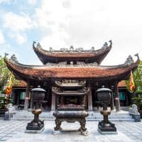 Atração turística templo, Hanói, Vietnã