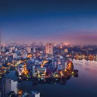 Hanoi vista noturna