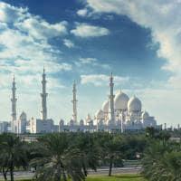 Vista Grande Mesquita Sheikh Zayed