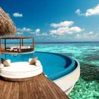 W Hotel Maldivas - Bangalô sobre as águas